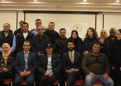 الدورة التدريبية لعناصر وأفراد الشرطة الفلسطينية حول آليات التعامل مع الشكاوى المقدمة من النساء والاستجابة للنوع الاجتماعي