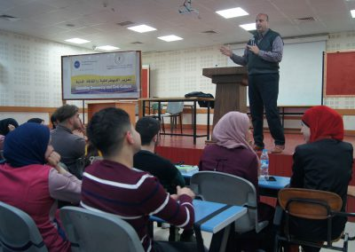 ورشة عمل حول التسامح وقبول الآخر في جامعة النجاح- نابلس