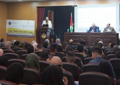 ورشة عمل حول المشاركة السياسية للشباب-كلية الشريعة-جامعة القدس المفتوحة- سلفيت