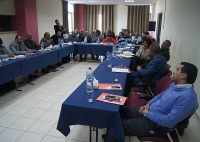 """جلسة حوارية لنقاش دراسة حول """" الإجراءات العملية المُتخذة من قبل السلطة الفلسطينية لمكافحة الفساد على ضوء اتفاقية الأمم المتحدة لمكافحة الفساد UNCAC"""""""""""