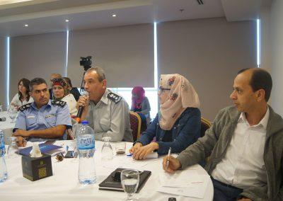 اللقاء التشاوري بين المؤسسة الأمنية ومؤسسات المجتمع المدني