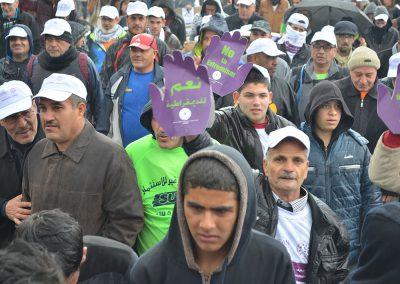 مارثون المشي في رام الله لمناهضة التطرف والتعصب بين الشباب