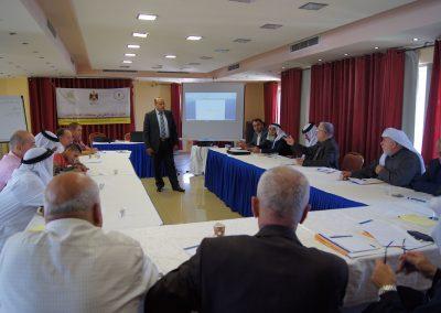 الدورة التدريبية لرجال العشائر حول القوانين والحقوق