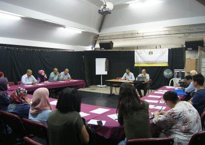 لقاء حول تطوير الخطة الإعلامية لنظام الشكاوى في مجلس الوزراء- رام الله