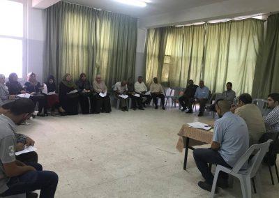 لقاء تطوير الخطة الإعلامية لنظام الشكاوى-لقاء المواطنين-الخليل