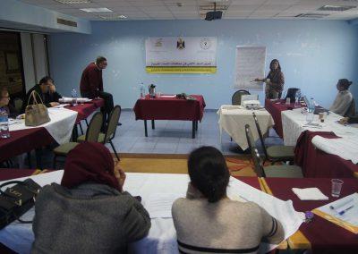 """""""دورة تدريبية حول """"تعزيز السلم الأهلي في محافظات الضفة الغربية"""
