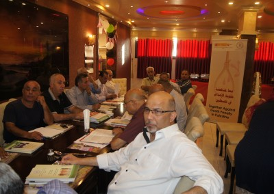 جلسة حوارية حول عقوبة الاعدام في فلسطين /طولكرم