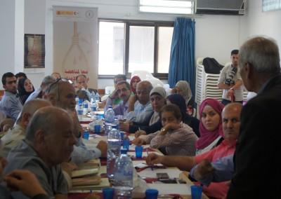 جلسة حوارية حول واقع عقوبة الاعدام في فلسطين / جنين