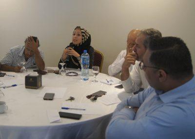 جلسة حوارية حول ( الجلوة) في الفكر العشائري وأثرها على حقوق الإنسان والسلم الأهلي