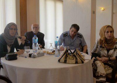 جلسة استماع حول دور وعمل الشرطة القضائية