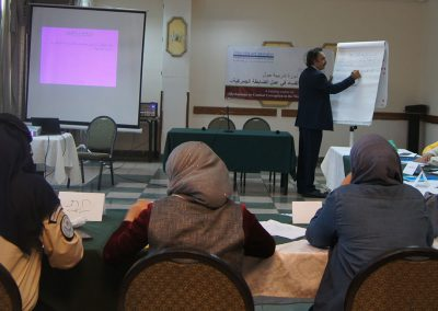 الدورة التدريبية حول آليات مكافحة الفساد في عمل الضابطة الجمركية