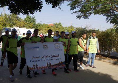 ماراثون للمشي بمناسبة اليوم العالمي لمكافحة الفساد في أريحا  DSC