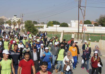 ماراثون للمشي بمناسبة اليوم العالمي لمكافحة الفساد في أريحا