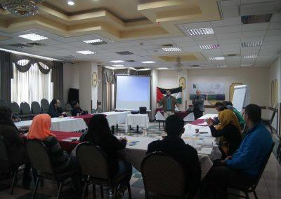 """دورة تدريبية حول آليات """"تنظيم جلسات الاستماع والمساءلة لطلبة الجامعات"""