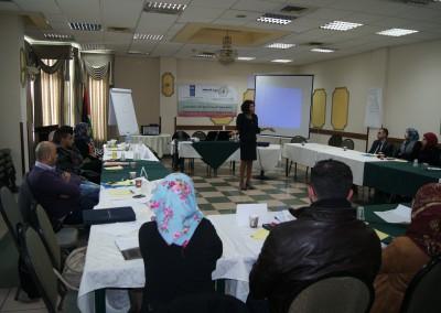 دورة تدريبية حول آليات تنظيم جلسات الاستماع والمساءلة للصحفيين الفلسطينيين في رام الله