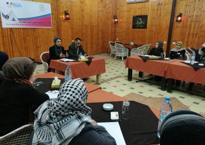 ورشة عمل تعزيز وصول النساء للعدالة /غزة