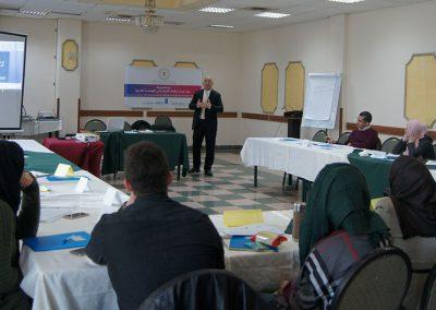 دورة تدريبية حول آليات الرقابة المدنية على قطاع الأمن الفلسطيني