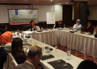ورشة عمل حول اي نوع من العلاقة بين مؤسسات المجتمع المدني والقضاء الغير رسمي