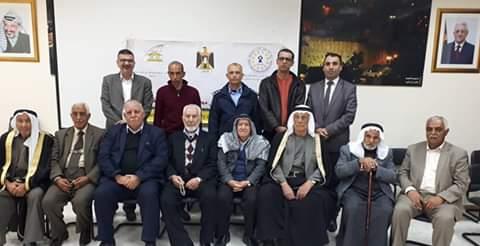 """مركز  """"شمس""""  يعقد لقاءين مع مجلس السلم الأهلي في محافظة الخليل"""