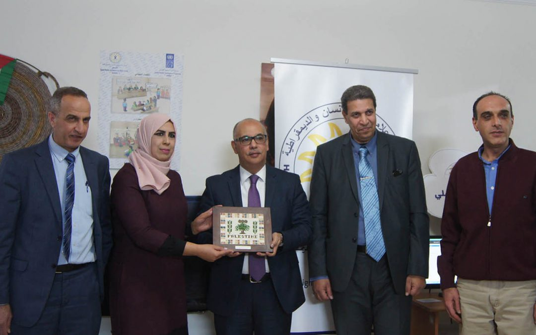 """في إطار تعزيز التعاون المشترك: السفير المغربي يزور مركز """"شمس"""""""