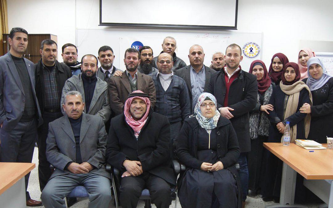 """مركز """"شمس"""" يختتم دورة تدريبية لمعلمي التربية الإسلامية حول الديمقراطية وحقوق الإنسان"""