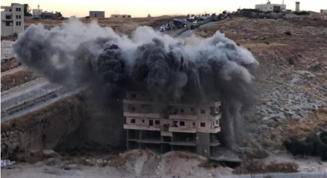 """مركز """"شمس"""" هدم منازل الفلسطينيين في القدس جريمة حرب ، وتطهير عرقي وجريمة ضد الإنسانية"""