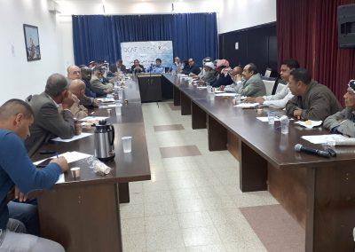 ورشة عمل مع الشرطة ورجال الإصلاح والعشائر في  محافظة أريحا