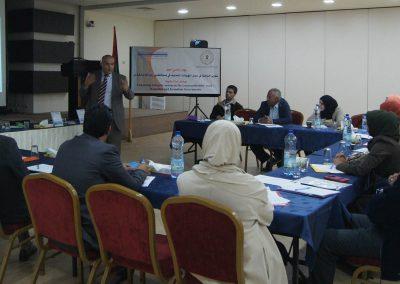 يوم دراسي حول تعزيز نظام النزاه ومكافحة الفساد في عمل الهيئات المحلية لمحافظتي رام الله والقدس