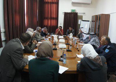 لقاء حول تعزيز السلم الاهلي في محافظة الخليل