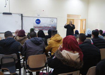 ورشة عمل حول التجمع السلمي في جامعة القدس