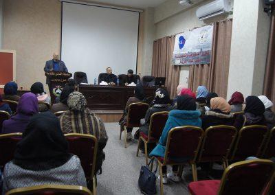 ورشة عمل حول التسامح في جامعة القدس المفتوحة - نابلس