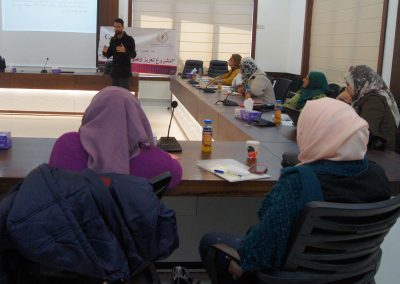 لقاء تشاوري حول تأسيس شبكة من المؤسسات النسائية القاعدية