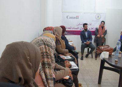 لقاء حول تمكين النساء في محافظة بيت لحم