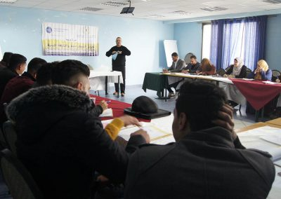 الدورة التدريبية لطلبة الشريعة حول حقوق الإنسان