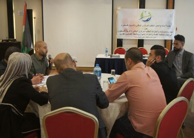 جلسة استماع لجهاز الإنتربول - فلسطين