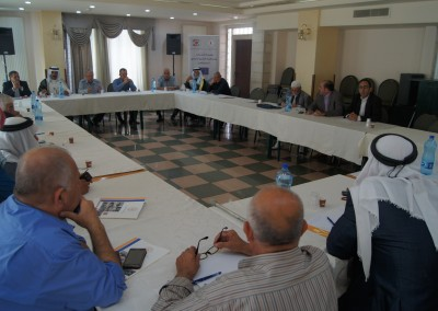 """A meeting on """" the role of reconciliation's men towards enhancing youth and women participation in the elections"""""""