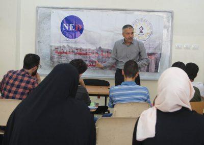 ورشة عمل حول التسامح لطلبة الشريعة في جامعة القدس