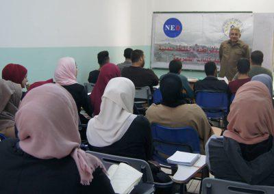 ورشة عمل حول الحق في التجمع السلمي في كلية الدعوة الإسلامية/الظاهرية