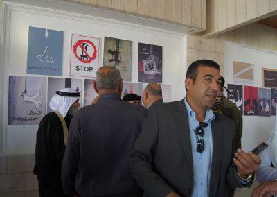 ندوة حول عقوبة الإعدام بين مؤيد ومعارض وافتتاح معرض الحياة حق في بيت لحم