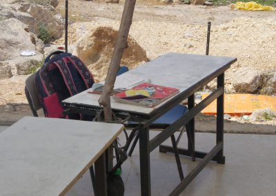 ضمن جولة مركز شمس مع وزارة التربية والتعليم في مدارس المناطق المهمشة في الخليل وأريحا