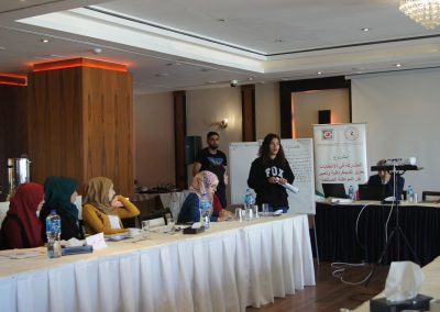 الدورة التدريبية حول تحليل مضمون البرامج الانتخابية وتنظيم جلسات الاستماع