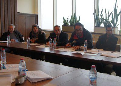 الجلسة حوارية حول تفعيل آليات الرقابة المدنية والمساءلة المجتمعية على قطاع الأمن الفلسطيني