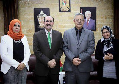 زيارة محافظة طولكرم