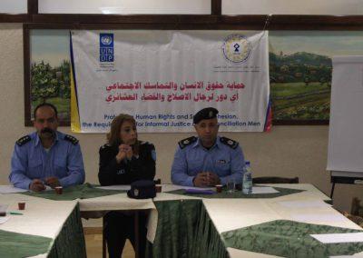 لقاء مع رجال الإصلاح والقضاء العشائري والشرطة /بيت لحم