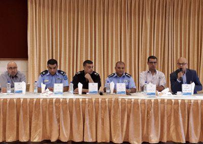 جلسة استماع مع شرطة محافظة بيت لحم