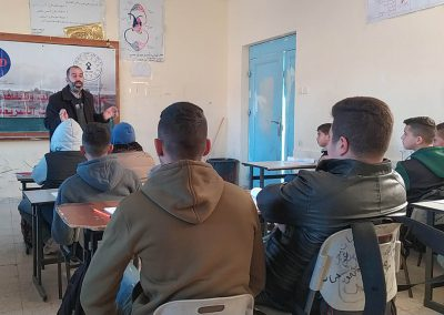 ورشة عمل مع معلمي التربية الإسلامية في المدارس حول حقوق الإنسان -مدرسة ذكور الشهيد سعيد العاص/بيت لحم