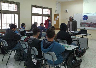ورشة عمل مع معلمي التربية الإسلامية في المدارس حول التسامح-مدرسة ذكور سنجل الثانوية/رام الله
