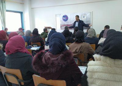 ورشة عمل حول حقوق الإنسان والثقافة المدنية