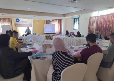 الدورة التدريبية لطلبة الشريعة والفقه والقانون حول حقوق الإنسان