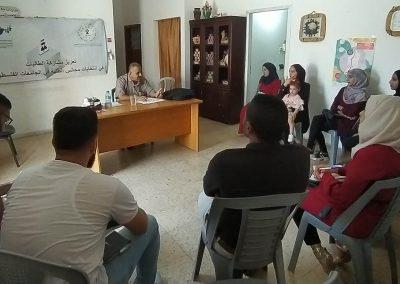 طاولة مستديرة حول تعزيز مشاركة الطالبات في مجالس الطلبة ترشيحاً وانتخاباً في جمعية العمل النسوي / جنين